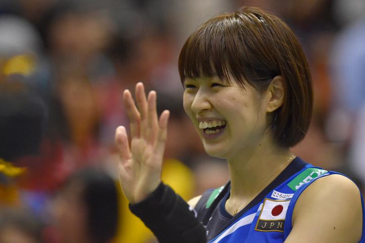 日本女子バレーボール界のエースとして活躍してきた木村さん。YouTubeチャンネル開設を発表し、ファンを沸かせた。(C)Getty Images