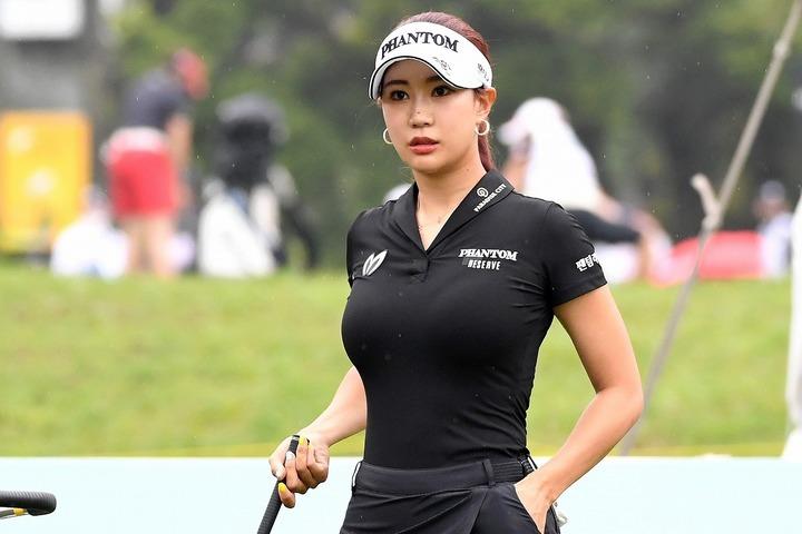 首位タイでスタートも終わってみれば下位に低迷。ユ・ヒョンジュの「先週末」は出入りが激しかった。(C)Getty Images