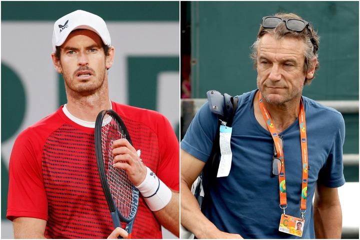 初戦敗退のマリー(左)に、手厳しいコメントを残したビランデル氏(右)。(C)Getty Images
