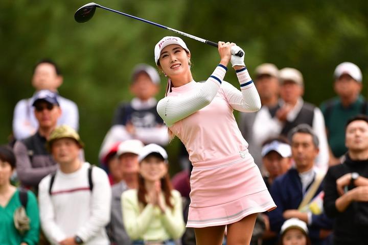 すでに再入国済みのキム・ハヌル。来週末にも日本女子ツアーに復帰する予定だ。(C)Getty Images