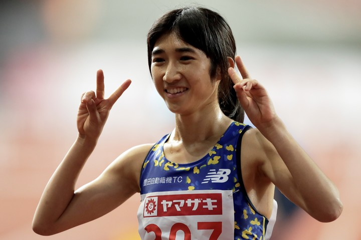 1500mで優勝した田中希実が、800mで2分4秒76で4位に入る活躍をみせた。(C)Getty Images