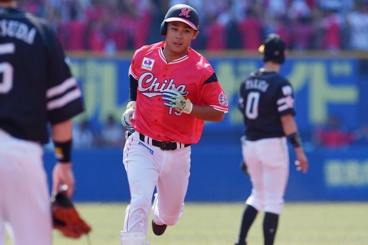 18年には112試合に出場した平沢だが、今季はまだ一軍出場がない。写真:産経新聞社