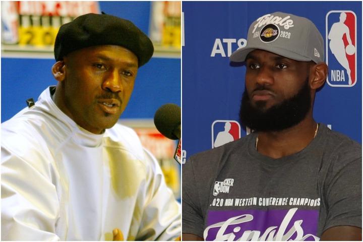 """スタッツでは多くの項目でジョーダンを上回っているレブロン。今季""""キング""""が優勝を果たした場合、NBA史上最高のプレーヤーを巡る議論に変化はあるのか。(C)Getty Images"""