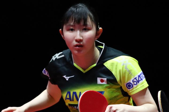 20歳の早田が公開した可憐なワンピース姿がファンの間で「すごく可愛い!」と反響を集めている。(C)Getty Images