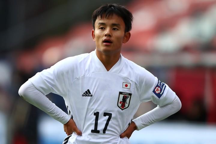 スペインの『MARCA』紙は、「この日本人は特別な才能を持っている」と久保を紹介した。(C)Getty Images