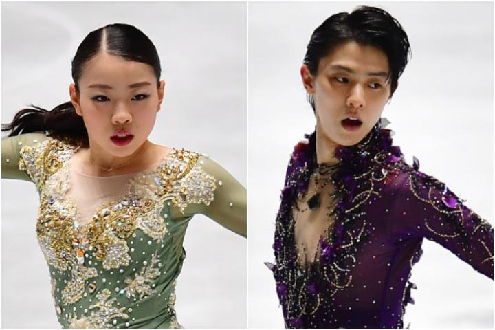 昨年は女子が紀平、男子が羽生していた四大陸選手権は、今シーズンは中止となった。(C)Getty Images