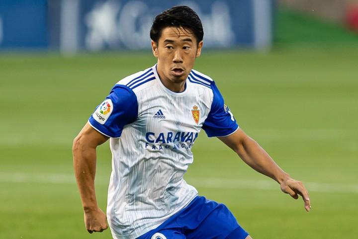 スペインでのプレーを希望していると言われる香川に新たな移籍先候補が浮上した。(C)Getty Images