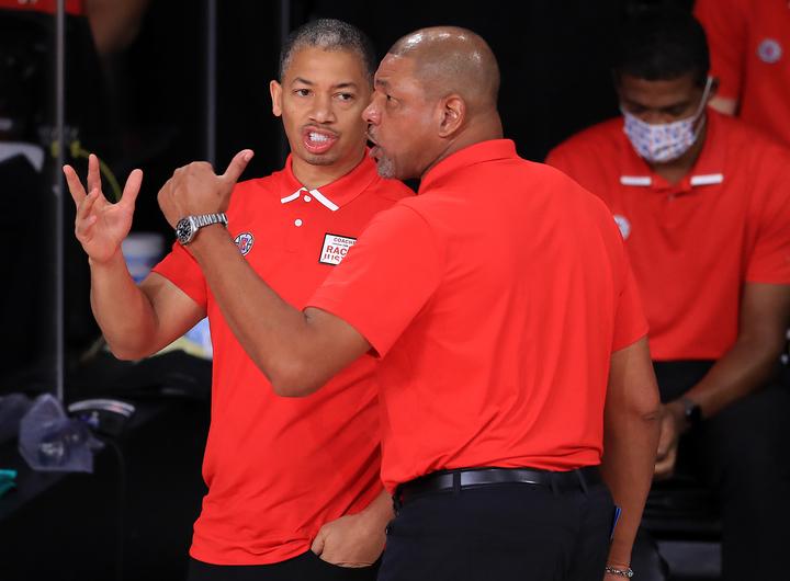 恩師のリバースHCの後を継ぎ、クリッパーズの新HCに就任したルー。来季への意気込みを語った。(C)Getty Images