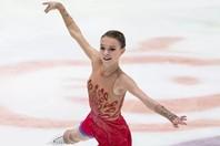 ロシアカップで2冠達成のシェルバコワ。写真は2020年1月に行なわれた欧州選手権のもの。(C)Getty Images