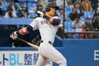 佐藤は4球団の競合の末、阪神へ。写真:大友良行