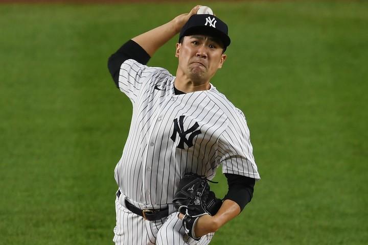 田中が今オフFAに。ヤンキース再契約が一番人気だが、大手メディアは争奪戦の可能性にも言及。(C)Getty Images