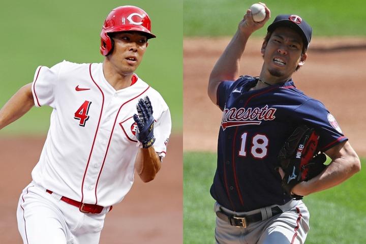 イチロー以来のノミネートとなった秋山(左)と前田(右)だが、残念ながら受賞はできなかった。(C)Getty Images