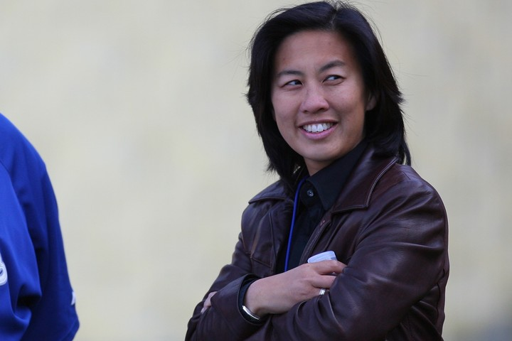 球界初の女性GMにアン氏が。その功績は今後の女性たちの強いメッセージにもなるはず。(C)Getty Images