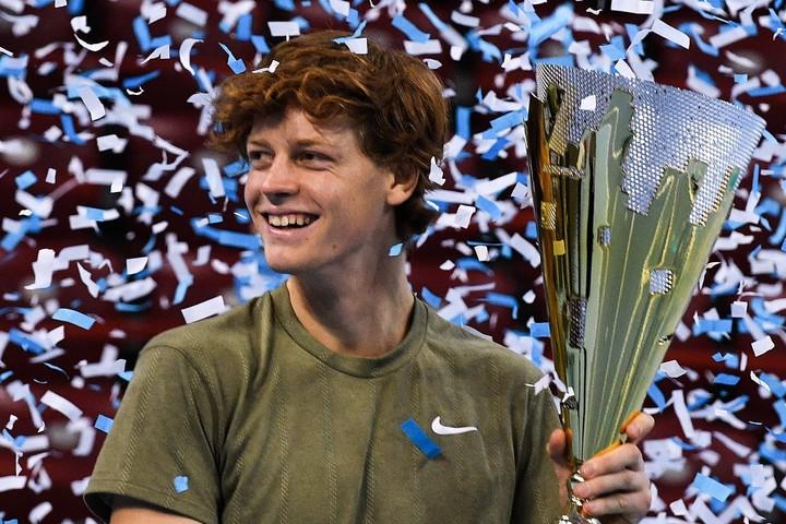 19歳でツアー初優勝を果たしたシナー。(C)Getty Images