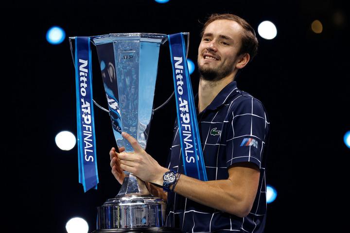 ロシア勢の優勝は2009年のダビデンコ氏以来11年ぶり。(C)Getty Images