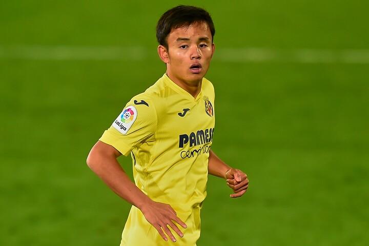 久保は徐々に出場機会が増えているビジャレアルでのプレーに満足していると現地メディアは報じた。(C)Getty Images