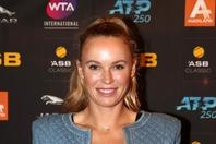 今年の全豪オープンで引退したウォズニアッキさん。(C)Getty Images