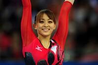 """2012年ロンドン五輪出場した田中さんが、可愛らしい""""ゆるふわ巻き髪""""姿を披露した。(C)Getty Images"""