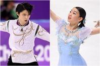 羽生結弦(左)、紀平梨花(右)らがエントリーリストに名を連ねた。(C)Getty Images