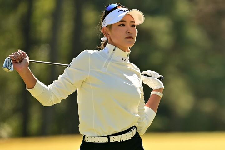原は日本女子オープンに続き、リコーカップを制して公式戦2連勝を達成した。(C)Getty Images