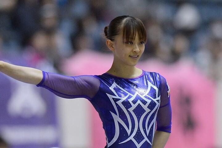 """2012年ロンドン五輪に出場した田中さんが披露した""""おしゃれなマスク姿""""が話題だ。(C)Getty Images"""