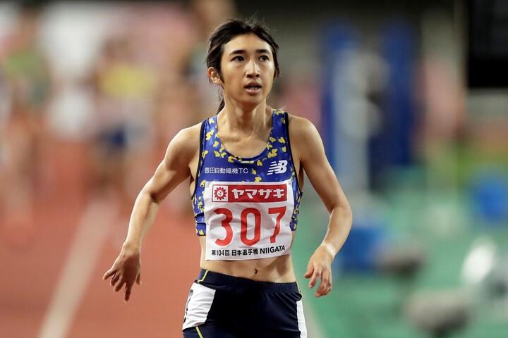 5000メートルで五輪代表に内定した、21歳の田中希実。(C)Getty Images
