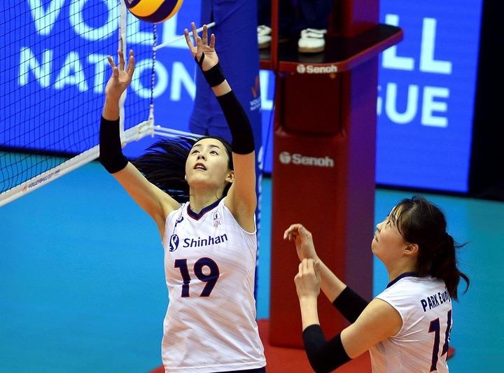 韓国女子バレーボール代表の名セッター、イ・ダヨン。東京五輪での活躍も期待される。(C)AFLO