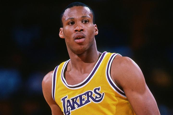 """80年代のレイカーズで""""ショータイム・バスケット""""の一員として一世を風靡したスコット。(C)Getty Images"""
