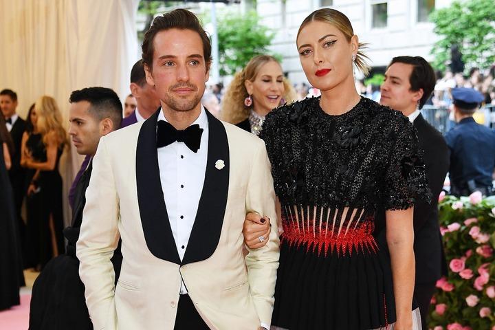 この2年間、どこに行くのも一緒だったシャラポワさんとギルケスさん。お似合いの美男美女カップルだ。(C)Getty Images