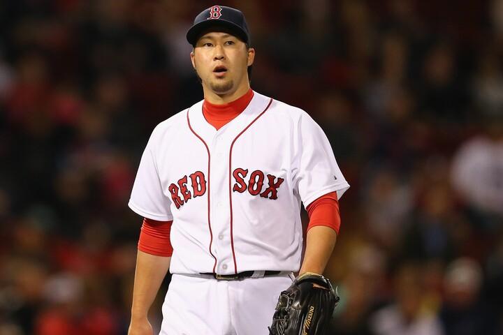 メジャーで活躍しながら今年のドラフト会議で指名されなかった田澤。しかし台湾球界は、それをチャンスと捉えたようだ。(C)Getty Images