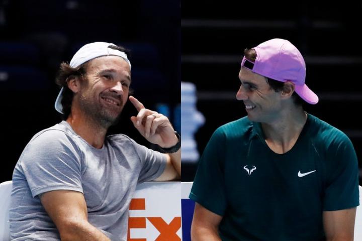 ナダルとモヤコーチのレジェンド師弟関係。来シーズンの活躍も楽しみだ。(C)Getty Images