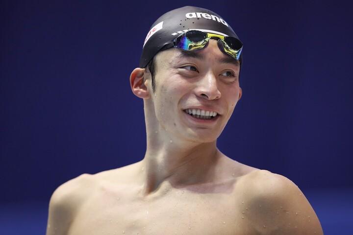 東京五輪を目指す入江陵介がオンラインイベントを実施した。(C)Getty Images