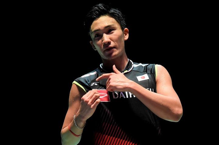 大会3連覇を狙う桃田。順当に2回戦へ駒を進めた。(C)Getty Images