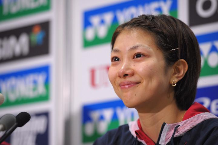 """潮田玲子が披露した""""キャリアウーマン風""""のパンツコーデに反響が集まっている。(C)Getty Images"""