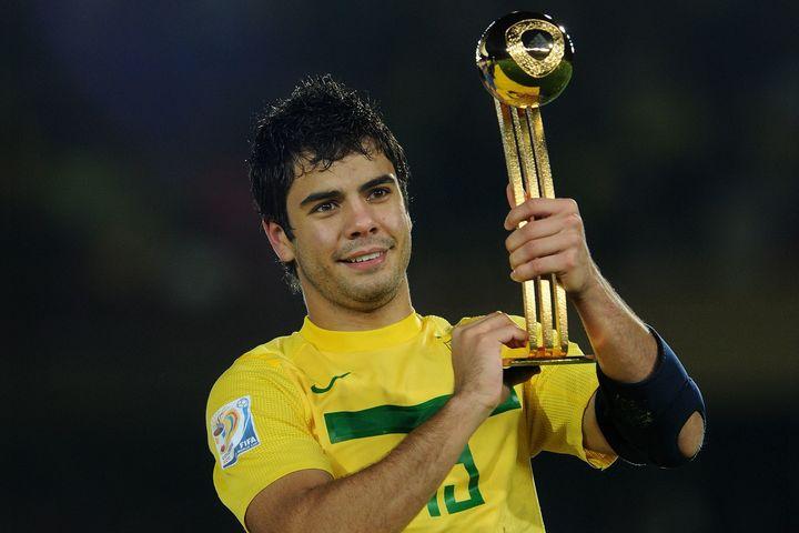 現在28歳のエンリケ・アウメイダ。11年U-20W杯で大会MVPと得点王に輝いた逸材は、再び第一線に返り咲けるか。 (C)Getty Images