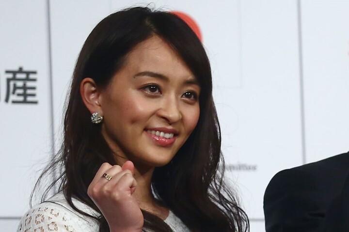 """2012年ロンドン五輪に出場した田中さんがキュートな""""トナカイ姿""""を公開。(C)Getty Images"""