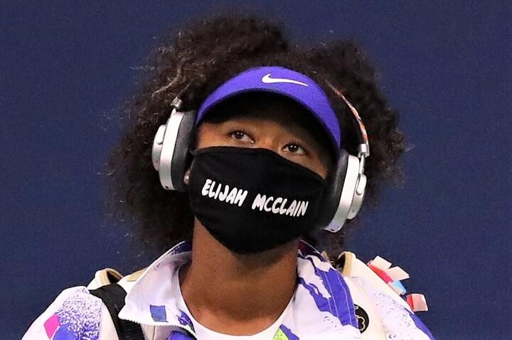 大坂の全米優勝の結果に加えて、人種差別抗議の行動を取り社会に問題提起したことも評価されての選出となった。(C)Getty Images