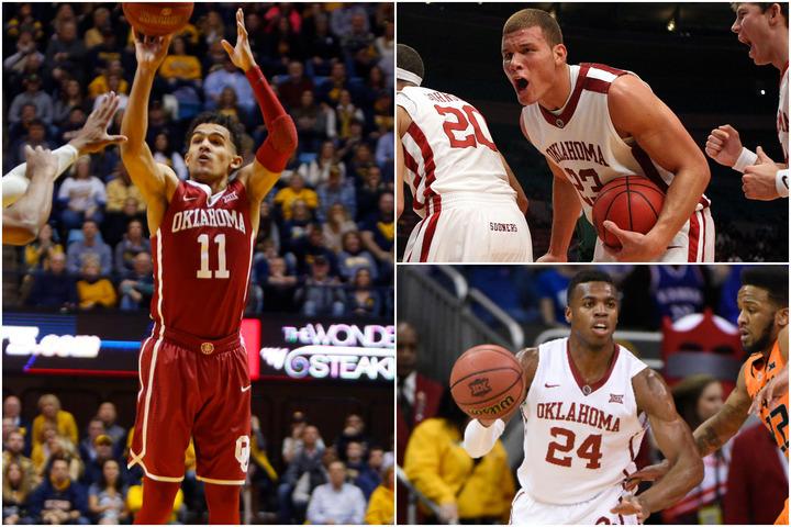 グリフィン(右上)、ヒールド(右下)と現役はみな実力者。なかでもヤング(左)はOB最高の選手となる可能性を秘めている。(C)Getty Images
