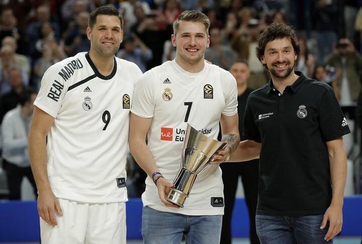 ユーロリーグで経験を積み、若くしてNBAに挑戦したルカ・ドンチッチ。今では彼のような若手選手に加え、逆に海外へ居場所を求めるベテラン選手も増えている。(C)Getty Images