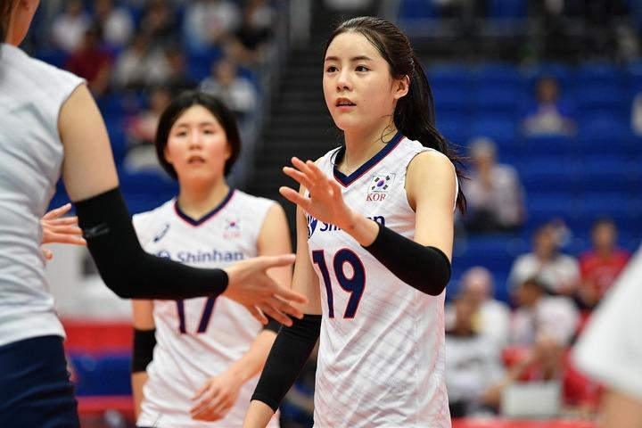 インスタのフォロワー数が32万を超えているイ・ダヨン。韓国きっての人気アスリートだ。(C)AFLO