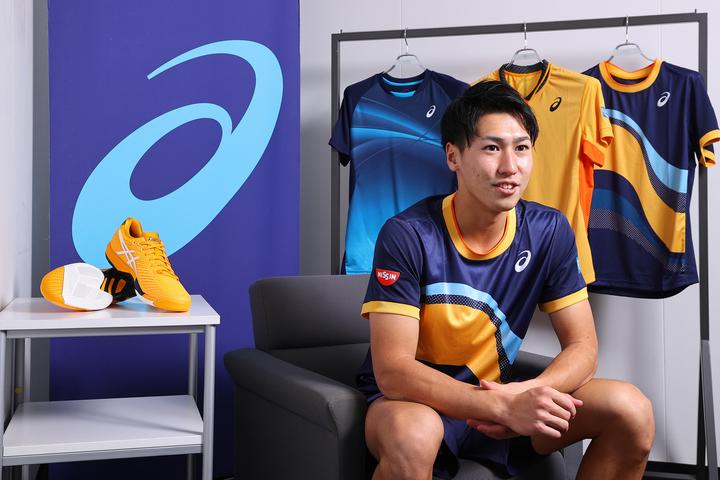 日本でオフシーズンを過ごした綿貫選手がインタビューに応じてくれた。写真:塚本凜平(THE DIGEST写真部)
