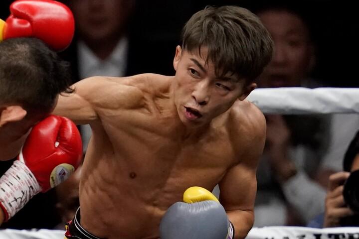 ダスマリナスとの指名試合に合意したと伝えられた井上尚弥。(C) Getty Images