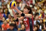 """4大会連続五輪に出場した木村さんが、可愛らしい""""パーマ姿""""を披露した。(C)Getty Images"""