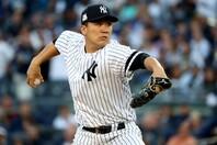 """日本復帰が噂される田中。ヤンキース地元TV局は過去の実績を振り返りながら、""""偉大さ""""を特集している。(C)Getty Images"""