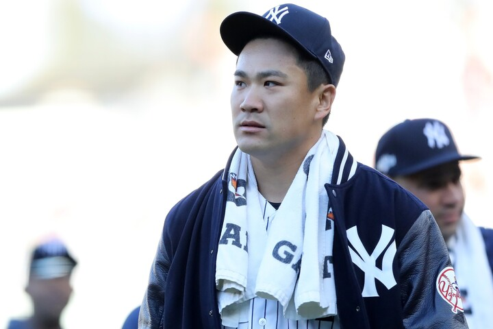 """ヤンキース側が田中の値段が""""高い""""と判断したようだが、冷静に考えると適正だと思えてくるが…。(C)Getty Images"""