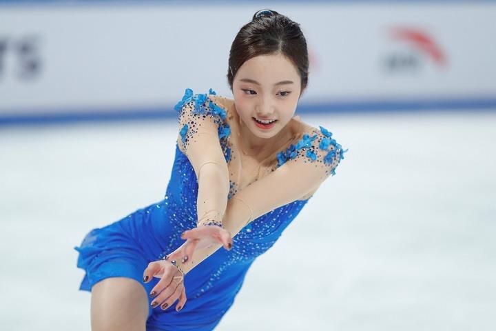 本田姉妹が久々にYouTubeチャンネルを更新。次女・真凜(写真)もキュートな素顔を垣間見せた。(C)Getty Images