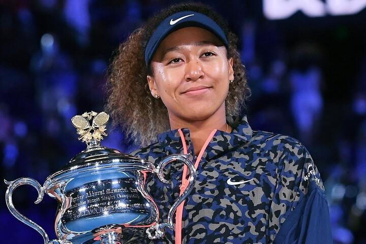 決勝でブレイディを破り全豪オープンを制した大坂なおみ。キャリア4つ目のグランドスラムタイトルだ。(C)Getty Images