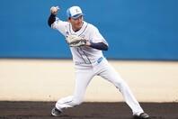 西武の歴代キャプテンと自身を比較し、「まだ全然劣っている」と語った源田。今年は打撃での貢献度アップを誓った。写真:球団提供
