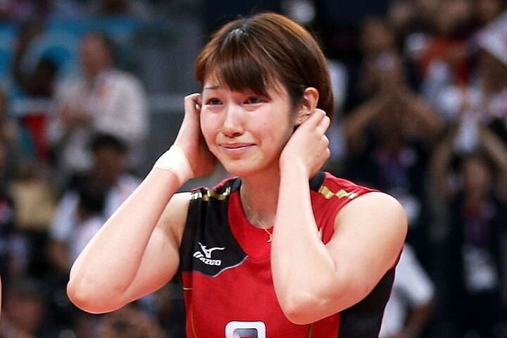 """2012年ロンドン五輪に出場した狩野さんが""""ぴったりニット姿""""を披露し、話題を呼んでいる。(C)Getty Images"""