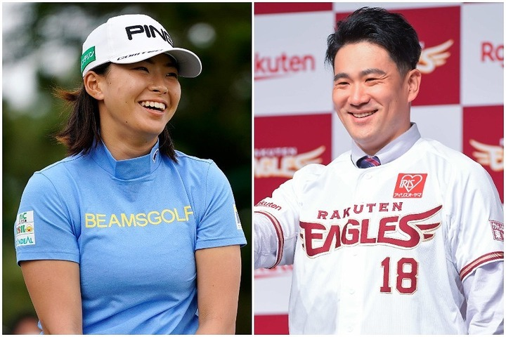 世界のマー君(右)と世界のシブコ(左)がゴルフで激突! ハンデ戦の行方やいかに!? (C)THE DIGEST, Getty Images